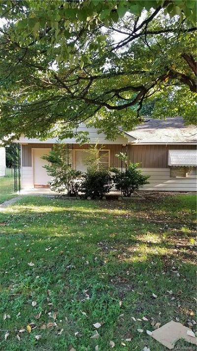 Montgomery Single Family Home For Sale: 517 Chisholm Street