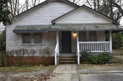 Wetumpka Single Family Home For Sale: 711 Osceola Street