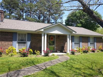 Selma Single Family Home For Sale: 308 Pinehaardt Drive