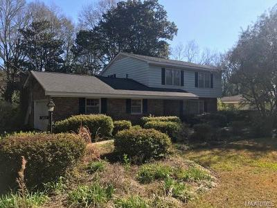 Selma Single Family Home For Sale: 314 Barrett Road