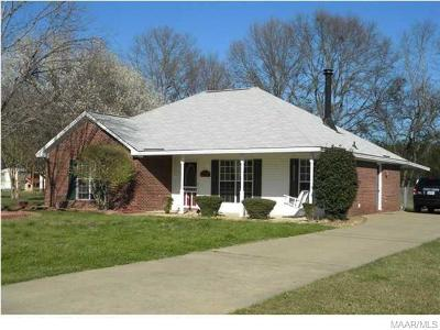 Millbrook Single Family Home For Sale: 67 Pecan Circle