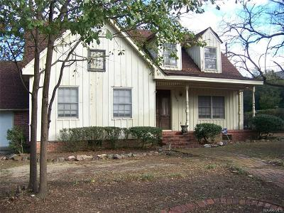Montgomery Single Family Home For Sale: 395 Rose Lane