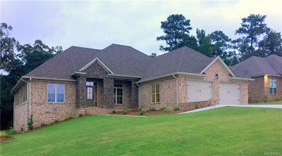 Prattville Single Family Home For Sale: 548 Weatherby Trail
