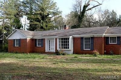 Selma Single Family Home For Sale: 295 Moore's Ferry Road