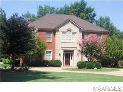 Montgomery AL Single Family Home For Sale: $275,000
