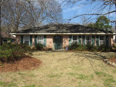 Montgomery Single Family Home For Sale: 5223 Cochran Circle