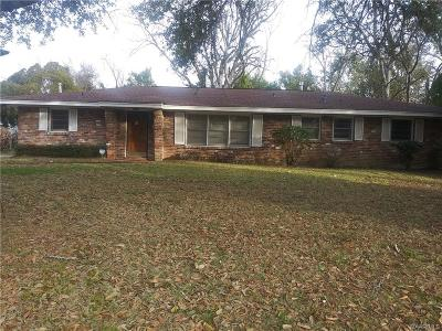 Montgomery Single Family Home For Sale: 611 Alamo Drive