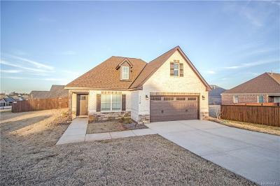 Prattville Single Family Home For Sale: 1114 Benjamin Way