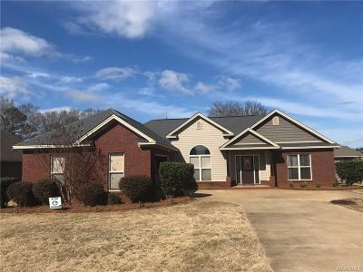 Wetumpka Single Family Home For Sale: 139 Village Court