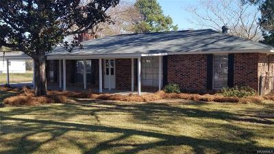 Wetumpka Single Family Home For Sale: 72 3rd Street