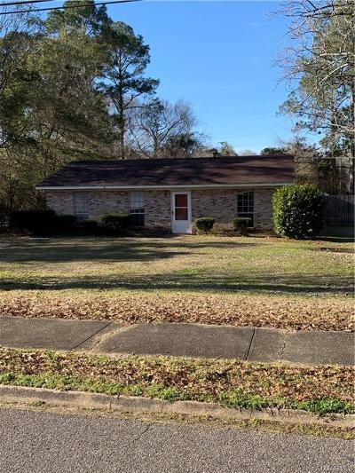 Selma Single Family Home For Sale: 2600 Old Orrville Road