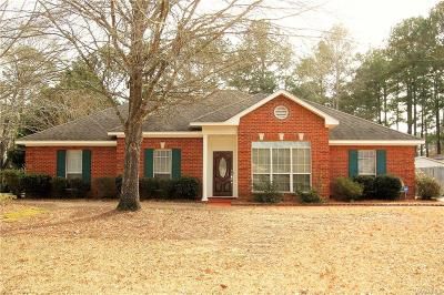 Wetumpka Single Family Home For Sale: 70 Springbrook Drive