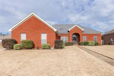 Prattville Single Family Home For Sale: 1012 Thistle Road