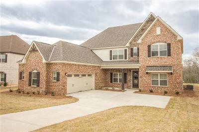 Prattville Single Family Home For Sale: 1356 Tullahoma Drive