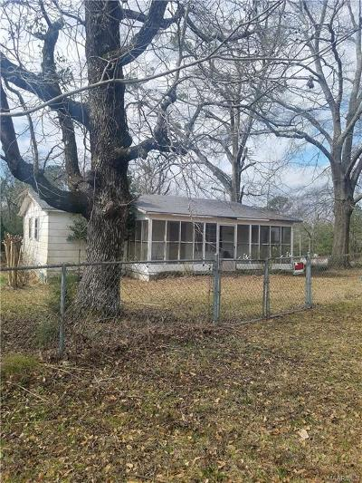 Autaugaville Single Family Home For Sale: 615 County Road 45 Road N
