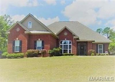 Wetumpka Single Family Home For Sale: 28 Walnut Point Court