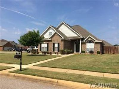 Prattville Single Family Home For Sale: 514 Overton Drive