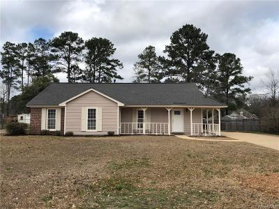 Millbrook Single Family Home For Sale: 2491 N Cobb Loop Road
