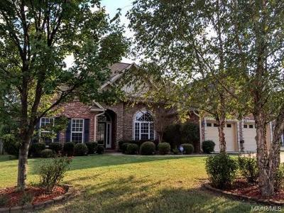 Prattville Single Family Home For Sale: 106 Appalachian Ridge