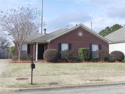 Prattville AL Single Family Home For Sale: $149,900