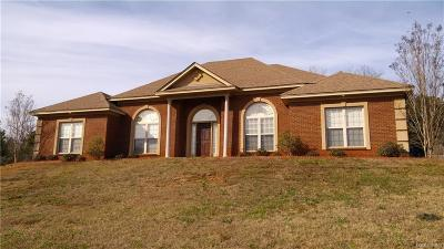 Wetumpka Single Family Home For Sale: 40 Blue Creek Road