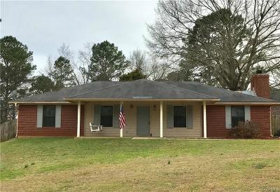 Millbrook Single Family Home For Sale: 420 Hickory Grove Road