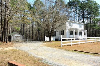 Wetumpka Single Family Home For Sale: 1165 Fire Tower Road