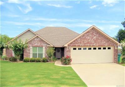 Deatsville Single Family Home For Sale: 13 Brookshire Drive