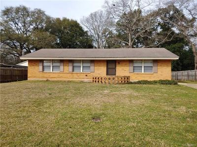 Prattville Single Family Home For Sale: 120 Patrick Street