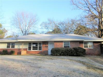 Montgomery Single Family Home For Sale: 3567 Princess Ann Street