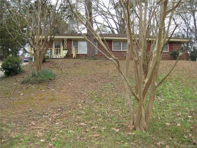 Montgomery Single Family Home For Sale: 428 Nottingham Road