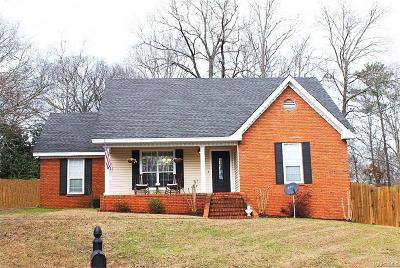 Deatsville Single Family Home For Sale: 61 Red Oak Drive