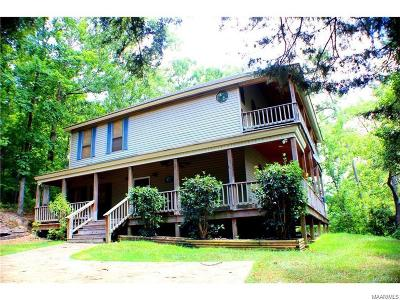 Titus Single Family Home For Sale: 165 Lake Shore Drive