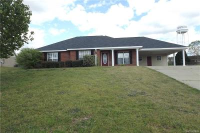 Prattville Single Family Home For Sale: 1801 Aspen Way