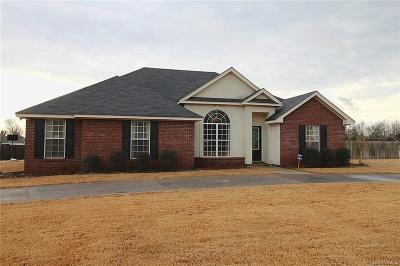 Tallassee Single Family Home For Sale: 220 White Oak Lane