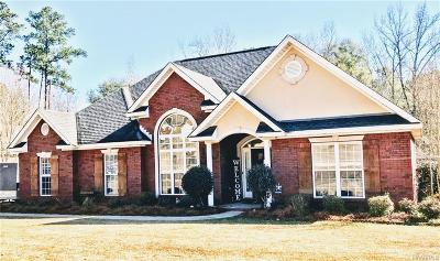 Prattville Single Family Home For Sale: 155 Shady Oak Lane
