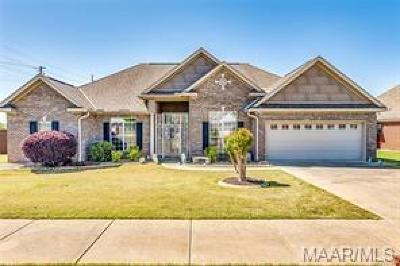 Prattville Single Family Home For Sale: 1801 Riverton Drive