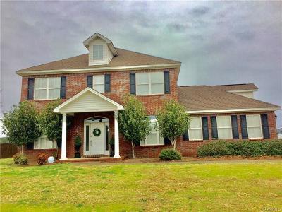 Tallassee Single Family Home For Sale: 2239 Dark Corners Road