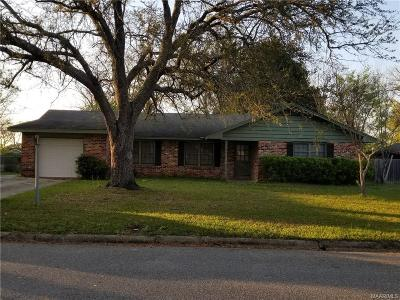 Montgomery Single Family Home For Sale: 2641 Norwich Drive