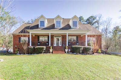 Deatsville Single Family Home For Sale: 882 Gunnells Road