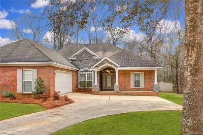 Wetumpka Single Family Home For Sale: 393 Hickory Place