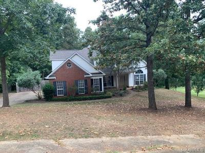 Deatsville Single Family Home For Sale: 72 Hilton Circle