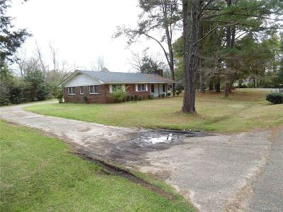 Selma Single Family Home For Sale: 202 Crestwood Drive