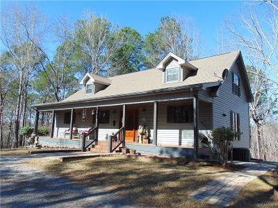 Wetumpka Single Family Home For Sale: 650 Otter Track Road