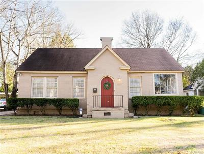 Montgomery Single Family Home For Sale: 1915 Norman Bridge Court