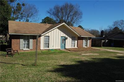 Prattville Single Family Home For Sale: 266 Murfee Drive