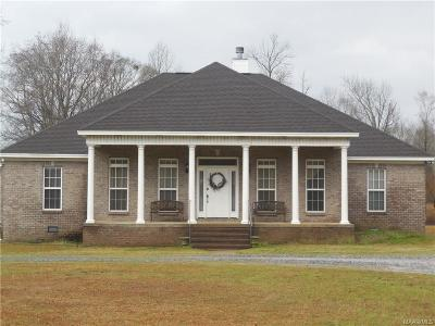Wetumpka Single Family Home For Sale: 2257 Weoka Road