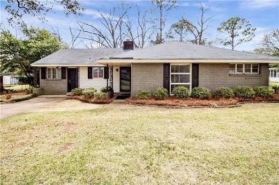 Montgomery AL Single Family Home For Sale: $92,500