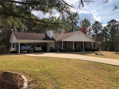 Wetumpka Single Family Home For Sale: 20 Lakeview Court