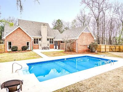 Montgomery Single Family Home For Sale: 8017 Mossy Oak Drive